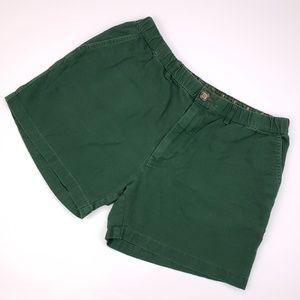 Chubbies Large Green Shorts Mens Size L Cotton Usa